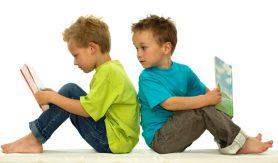 Lezende kinderen